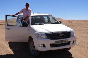 déplacer en Namibie