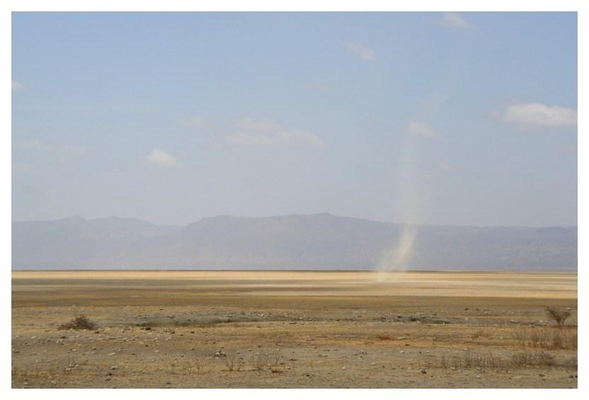 Au lac Manyara en Tanzanie
