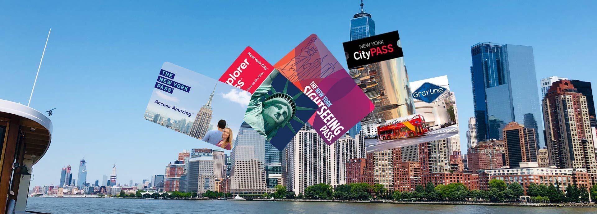 Présentation des différents New York Pass